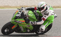 Endurance hours moto race catalunya hores resistencia that celebrates at circuit of barcelona at barcelona spain on days july Royalty Free Stock Image