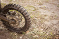 Enduro cross background tire tread Royalty Free Stock Image