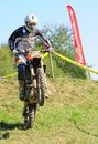 Enduro cross championship Stock Photography