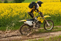 Enduro rider Royalty Free Stock Images