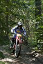 Enduro rider Royalty Free Stock Photo