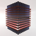 Energy cell - 3D Royalty Free Stock Photos