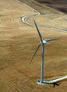 Energy conservation - windmill Stock Photos