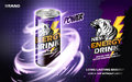 Energy drink ad Royalty Free Stock Photo