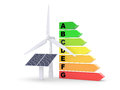 Energy efficiency concept. Royalty Free Stock Image