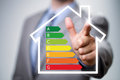 Energy efficiency in the home Royalty Free Stock Photo