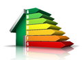 Energy efficiency vector illustration of rating Stock Photo
