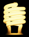 Energy Efficient Light Bulb Royalty Free Stock Photo
