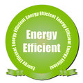 Energy Efficient Seal Stock Photo