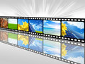 Energy film Royalty Free Stock Photo