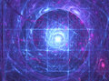 Energy fractal background Royalty Free Stock Photo