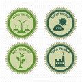 Energy icons over dotted background vector illustration Stock Image