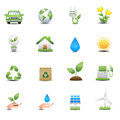 Energy icons set this image is a vector illustration Royalty Free Stock Images