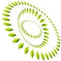 Energy Leaf Circle