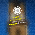 Energy and persistence allow you to conquer all things motivational background Royalty Free Stock Photography