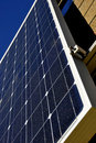 Energy Producing Solar Panel Royalty Free Stock Photo