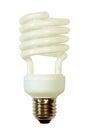 Energy save lamp taken. Royalty Free Stock Photo