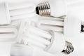 Energy saver bulbs Royalty Free Stock Photography
