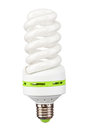 Energy saving light bulb Stock Photos