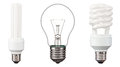 Energy saving light bulbs Royalty Free Stock Photo