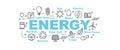 Energy vector banner