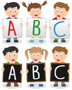 Enfants d'ABC Images stock