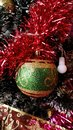 Ornaments Of A Colorful And Sketchy Christmas Tree 2