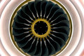Engine of airbus Royalty Free Stock Photo