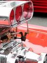 Engine compressor Stock Photo