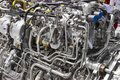Engine of fighter jet Royalty Free Stock Photo