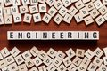 stock image of  Engineering word concept