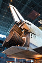 Engines of the Discovery Space Shuttle Royalty Free Stock Photo