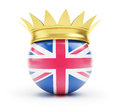 England crown Royalty Free Stock Photography