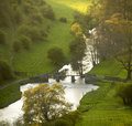 England derbyshire peak district national park Stock Photography