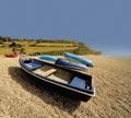 England devon jurassic coast Royalty Free Stock Photo