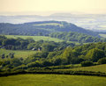 England gloucestershire the forest of dean as seen from ruardean Royalty Free Stock Photo