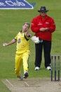 2012 England v Australia 4th one day international Royalty Free Stock Photo