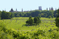 Englischer garten munich in the largest park in the city Stock Images