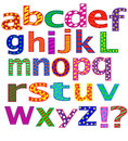 English alphabet letters stock image Stock Photo