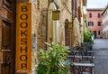 English bookshop banner Royalty Free Stock Photo