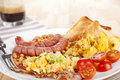 English breakfast. Royalty Free Stock Photography