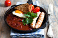 English breakfast Stock Photos