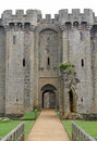 English castle in England, Great Britain Stock Photo
