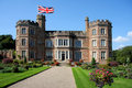 English castle, Mount Edgcumbe,Plymouth Royalty Free Stock Photography