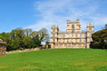English castle in wollaton nottinghamshire Royalty Free Stock Photos