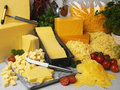 English Chedder Cheese Royalty Free Stock Photos