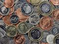 English Coins Royalty Free Stock Photo