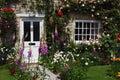 English cottage garden Royalty Free Stock Photo