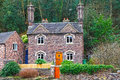 English cottage home Royalty Free Stock Images