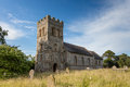 English country churchyard a typical in summer Royalty Free Stock Images